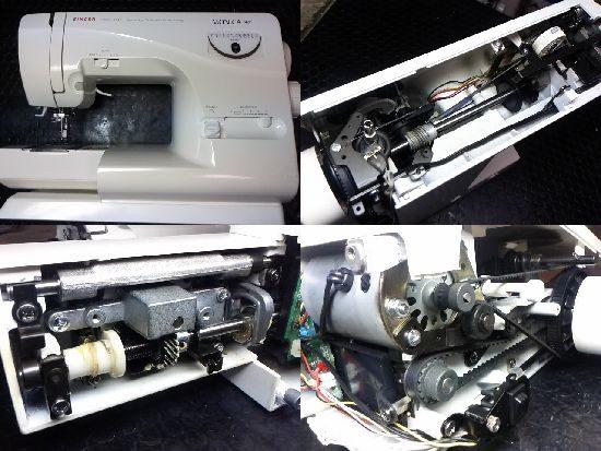 シンガーモニカピクシー5710のミシン修理