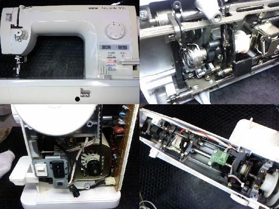 ブラザーヌーベル300のミシン修理