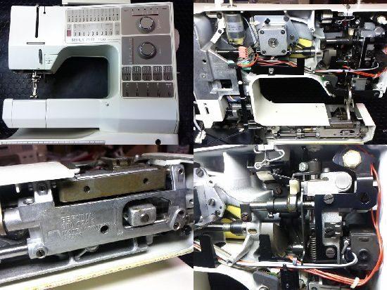 ベルニナRCM1130のミシン修理