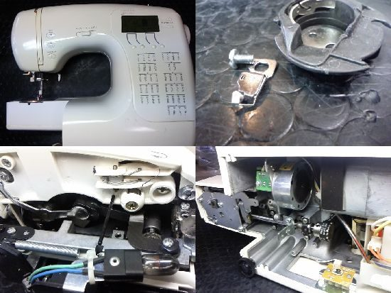 シンガーT6950のミシン修理