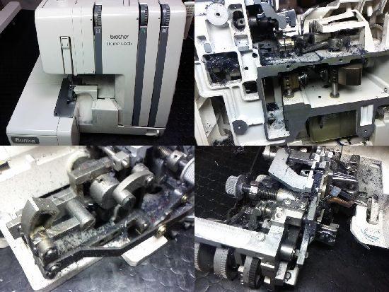 ブラザーホームロックのミシン修理