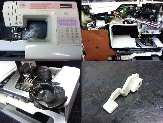 ブラザーテンディ5000のミシン修理