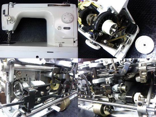 JUKIシュプール98デラックスのミシン修理