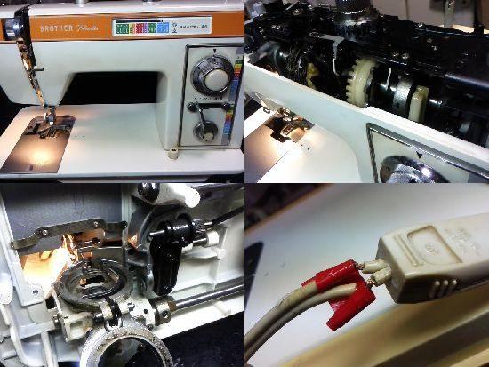 ブラザーペースセッター613のミシン修理