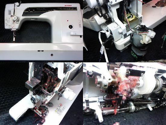 ジャノメ780DXのミシン修理