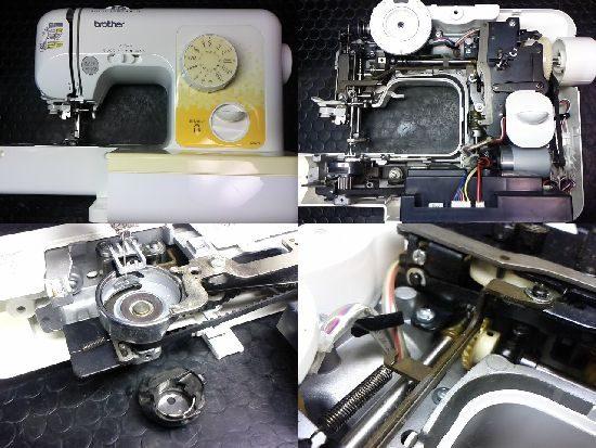 ブラザーA35-YFのミシン修理