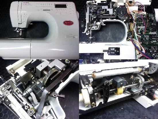 シンガーミシン修理アプリコット9780
