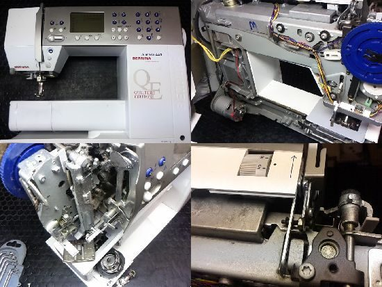 BERNINA aurora440のミシン修理