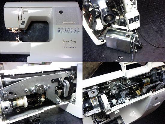 CrownLady5007DXのミシン修理