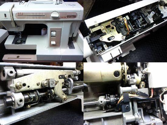 ジャノメコンビ2300SXのミシン修理