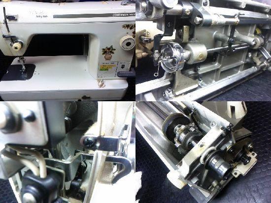 ベビーロックコンパニオン5000のミシン修理