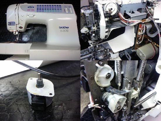 ブラザーCP968のミシン修理