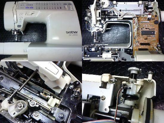ブラザーBC-3000のミシン修理
