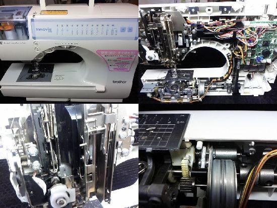 ブラザーミシン修理イノヴィスB55