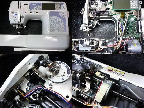 ファミリ―マーカーFM800のミシン修理