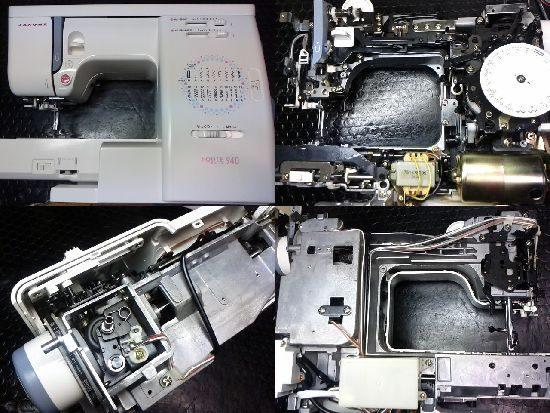 JANOMEエクール940のミシン修理