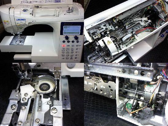 JUKIキルトスペシャルのミシン修理