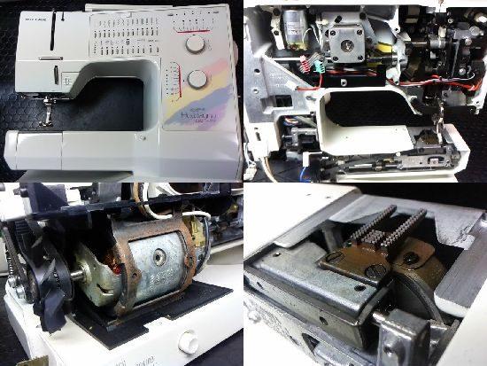 リッカーホリデーヌ1090のミシン修理