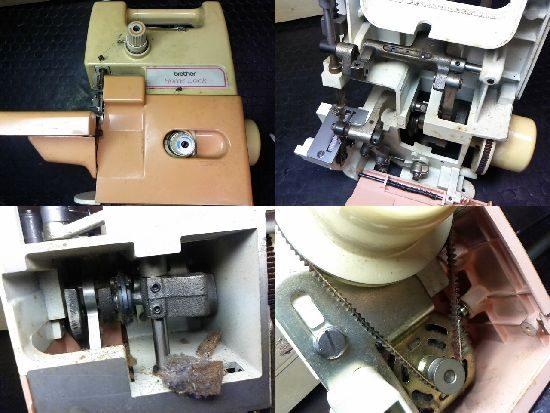 ブラザーTE4-B222のミシン修理