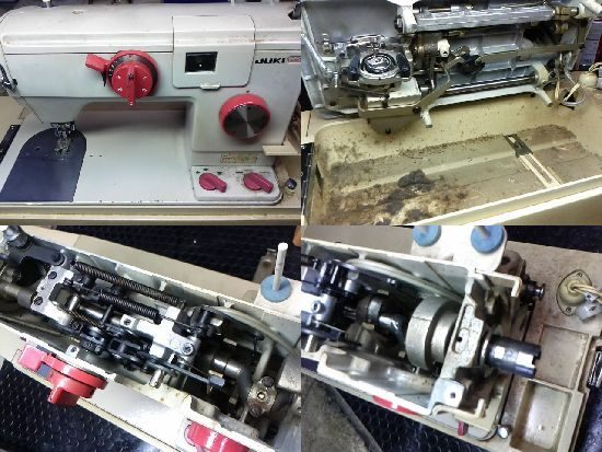 JUKI660のミシン修理