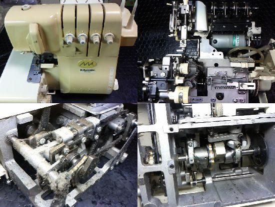 babylockクライムキKM504のミシン修理
