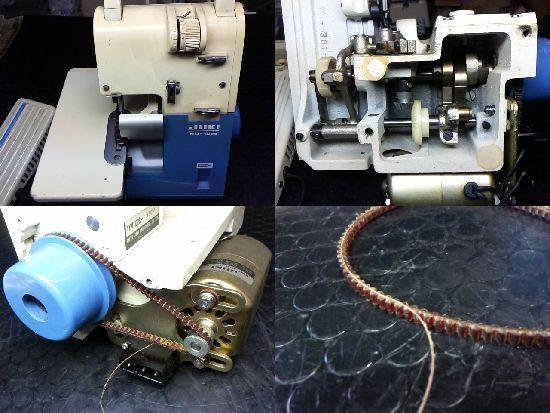 JUKIロックミシン修理MO-102S