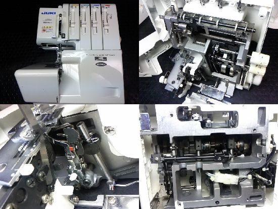 JUKIロックミシンMO-114Dの修理