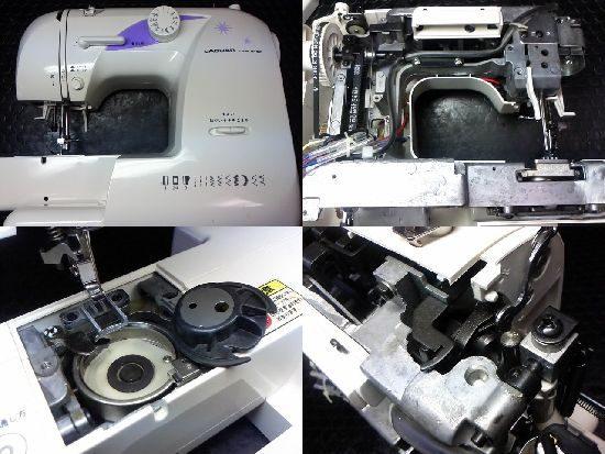 ジャガーMP-006のミシン修理