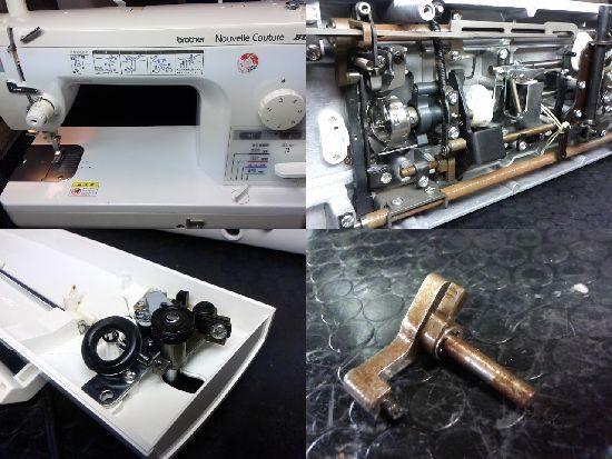 ブラザーヌーベルクチュールブンカのミシン修理