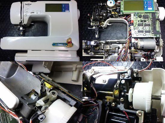 ブラザーミシン修理ZZ3-B140