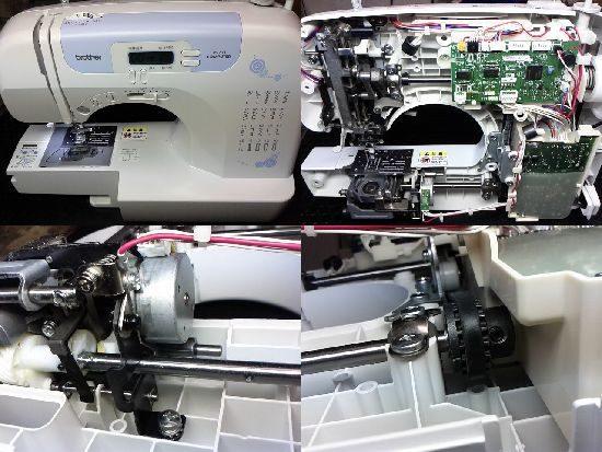 ブラザーCPS4210のミシン修理