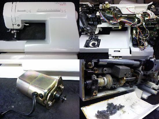 シンガールミナ3000のミシン修理