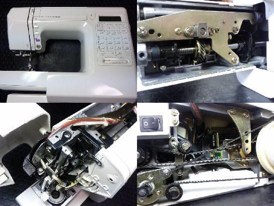 JANOME S7701のミシン修理