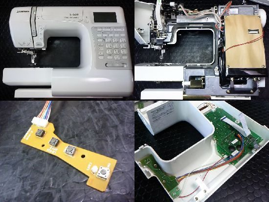 JANOME S7800のミシン修理