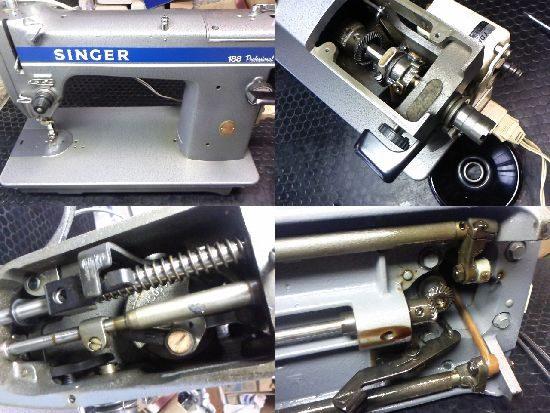 シンガー188プロフェッショナルのミシン修理