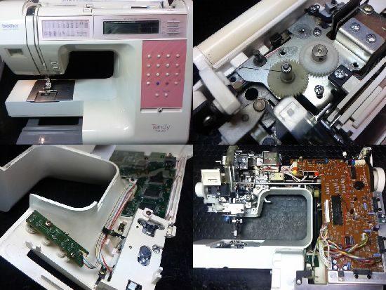 ブラザーTENDY7000のミシン修理