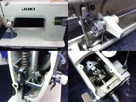 JUKI TL-72のミシン修理