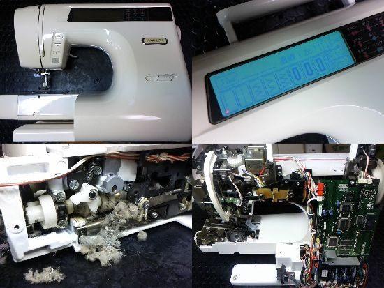 ブラザーミモレLのミシン修理