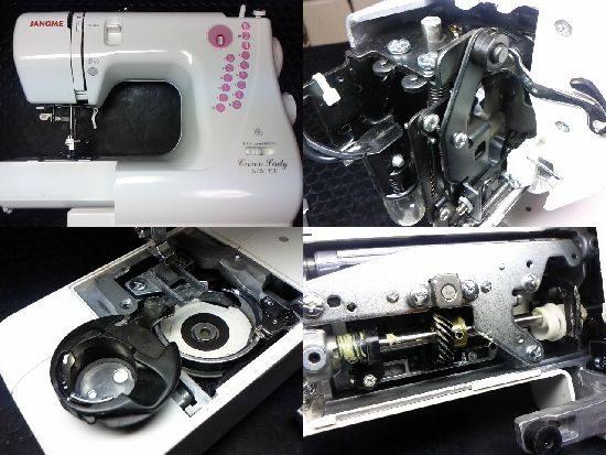 ジャノメクラウンレディ3030EXのミシン修理