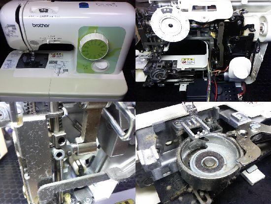ブラザーELU52のミシン修理