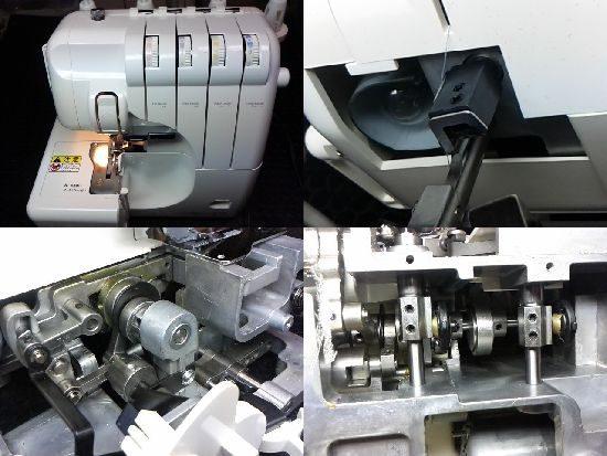 アーチザン630のミシン修理