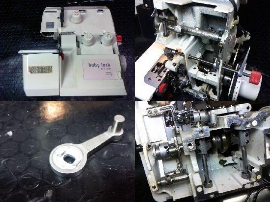 ベビーロックBL3-438のミシン修理