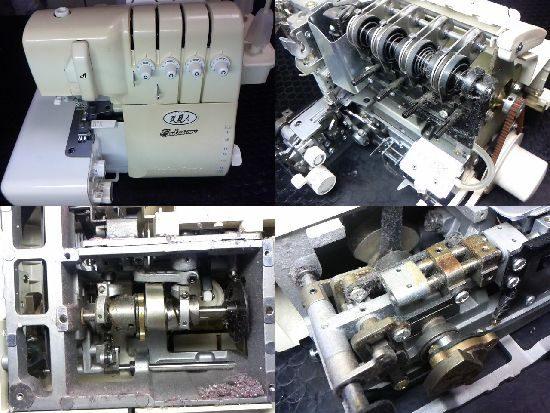 ベビーロック衣縫人BL555Evolutionのミシン修理