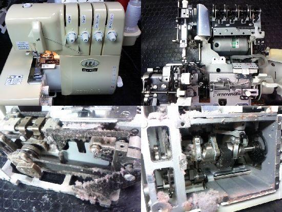 衣縫人BL5700EXSのミシン修理