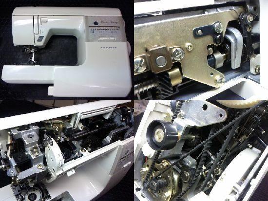 ジャノメCrownLady5007のミシン修理