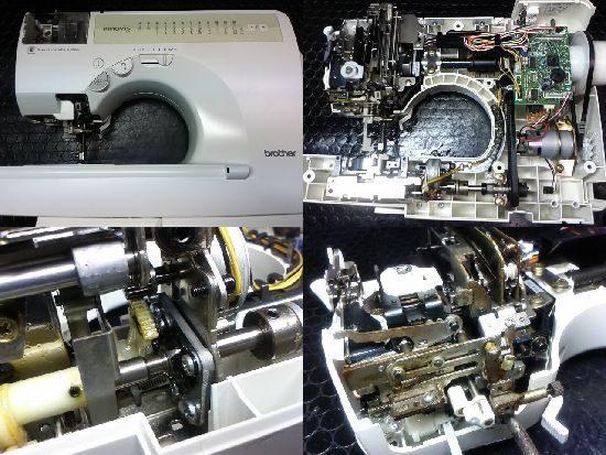 ブラザーイノヴィスC44のミシン修理