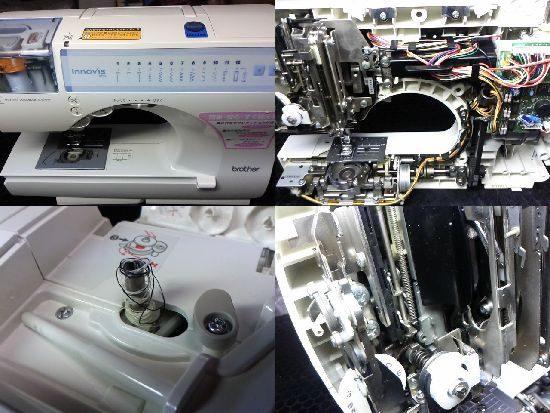 ブラザーイノヴィスB55のミシン修理