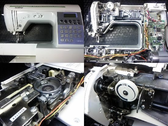 Brother CPS72のミシン修理