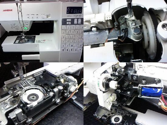 ジャノメDC6030のミシン修理