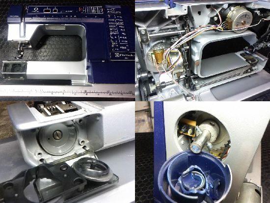 エレクトロラックス990のミシン修理